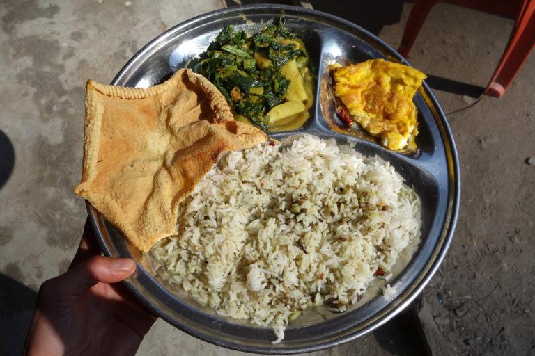 Notre recette népalaise