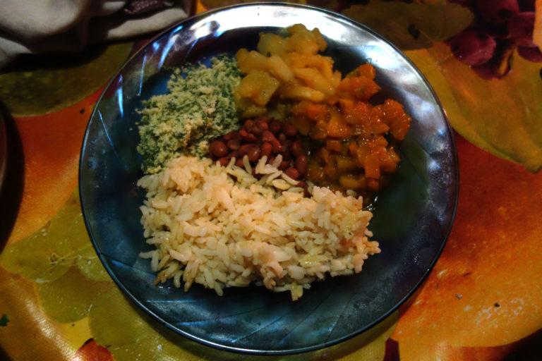 Le repas bahianais de Christiano